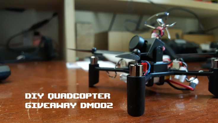 DIY Quadcopter Giveaway DM002
